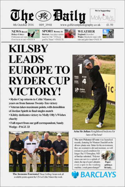 Golf-day-photography-08-Newspaper sample