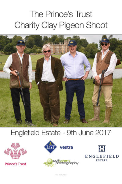 Corporate & Charity Clay Shooting team photo